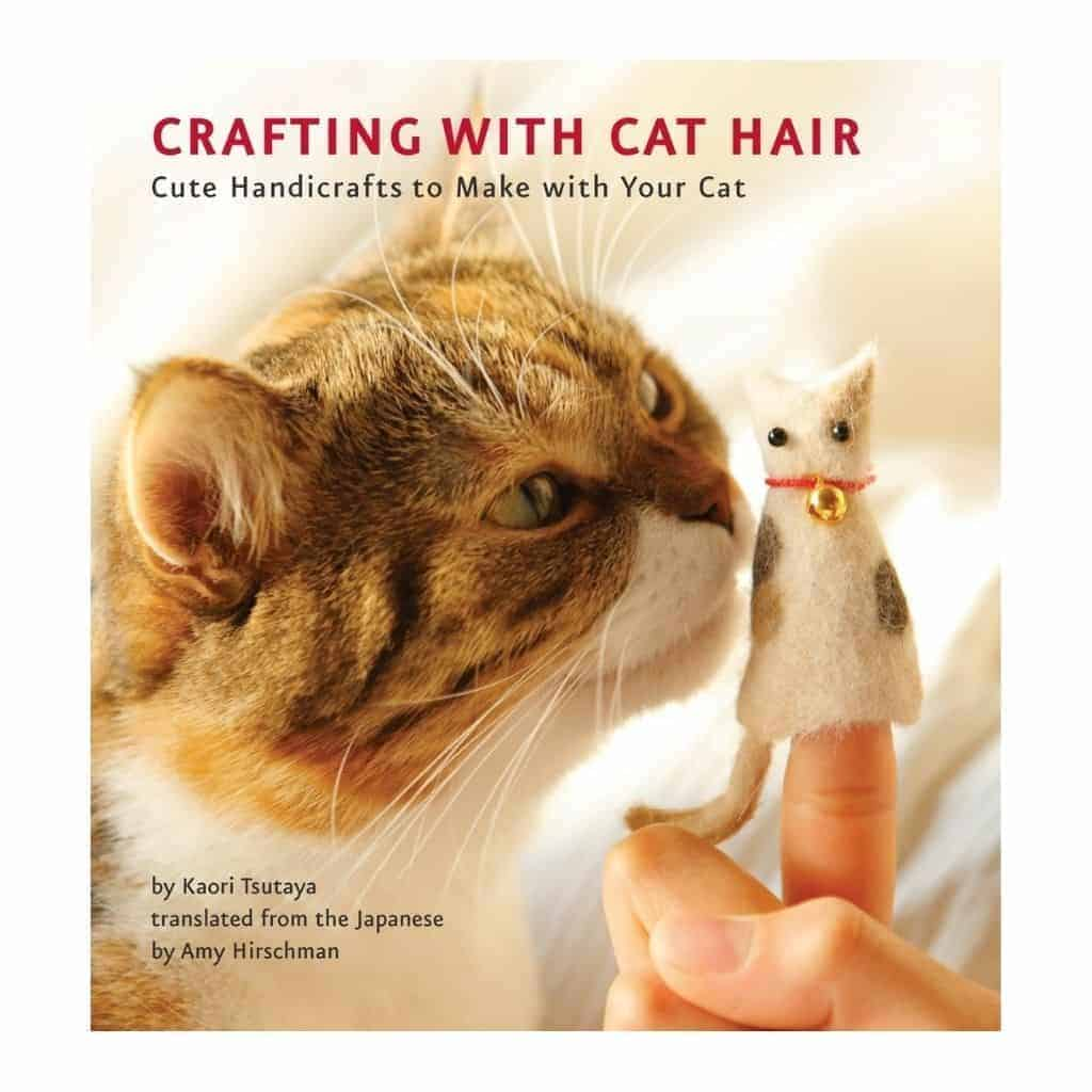 Crafting with Cat Hair book cover.