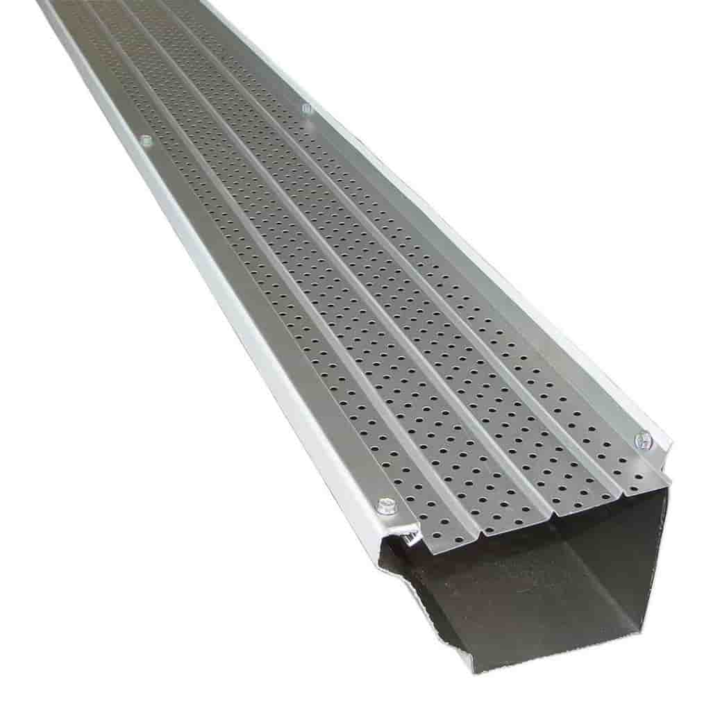 Aluminum gutter cover by FlexxPoint.
