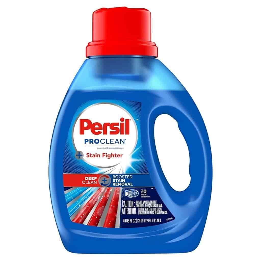 Persil ProClean laundry detergent.