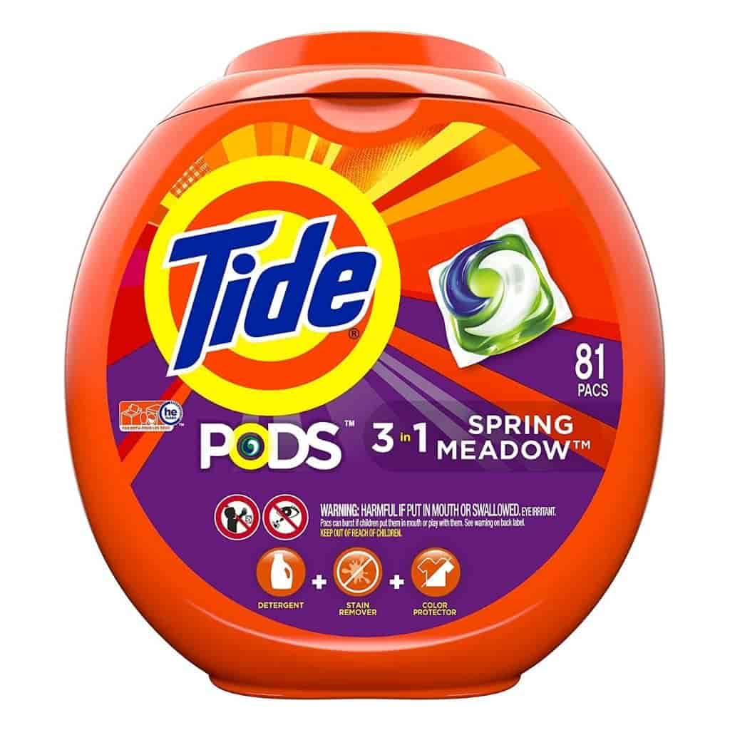Tide Pods container.