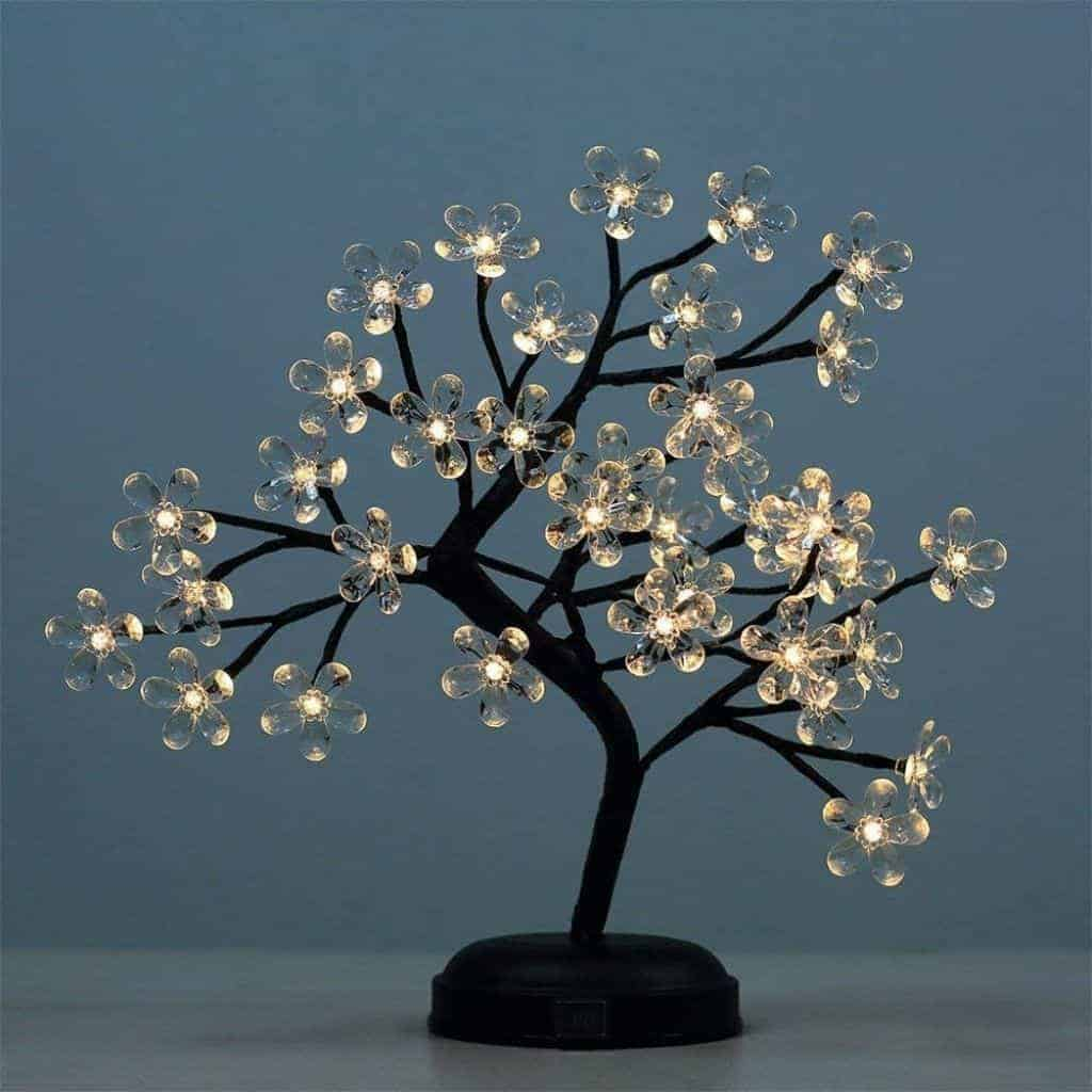 Acrylic bonsai light.