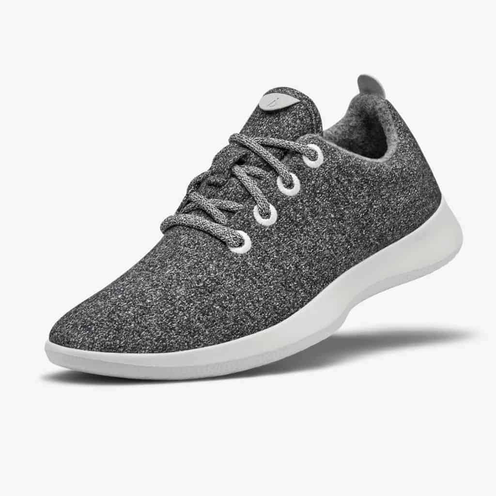 Allbirds grey wool sneaker.