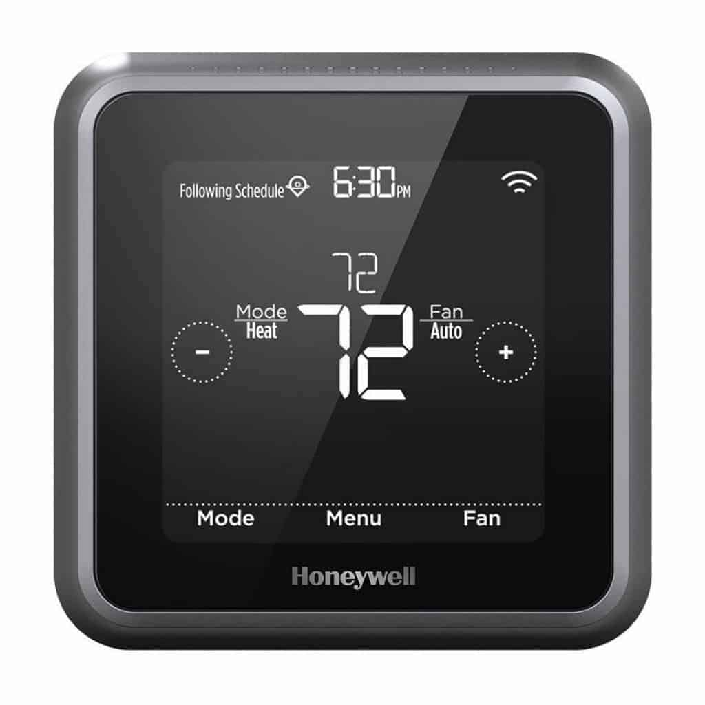 Honeywell smart thermostat.