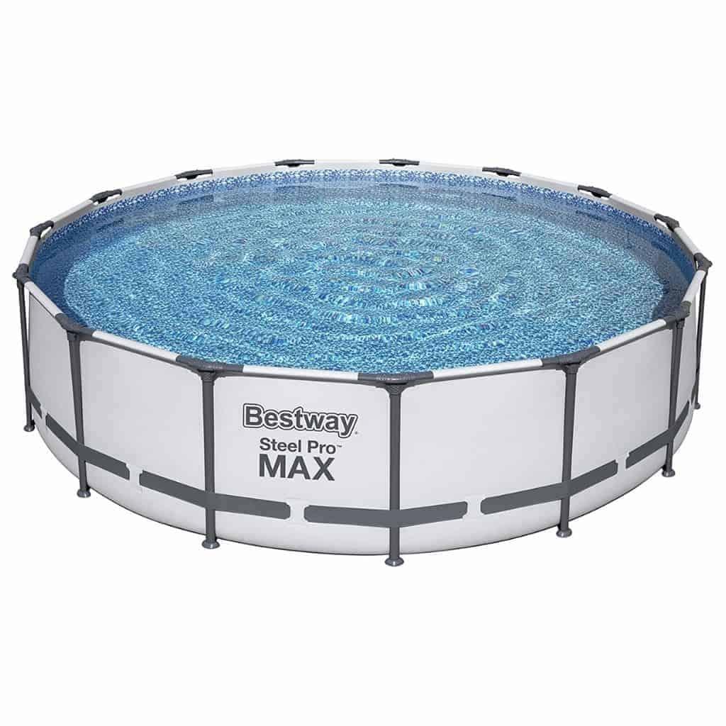 Bestway above-ground pool.