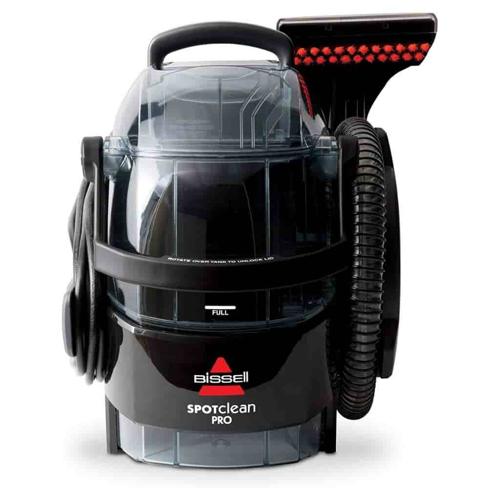 BISSELL portable carpet cleaner.