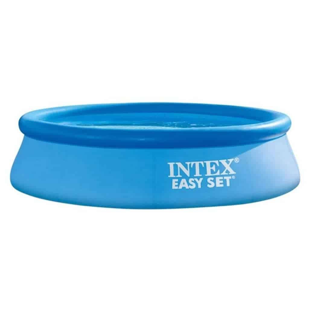 Intex Easy Set inflatable pool.