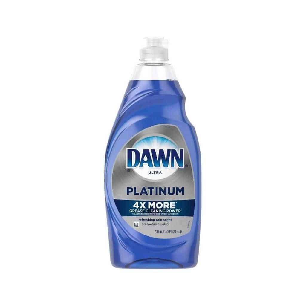 Bottle of Dawn dish soap.
